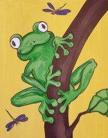 frog-on-branch